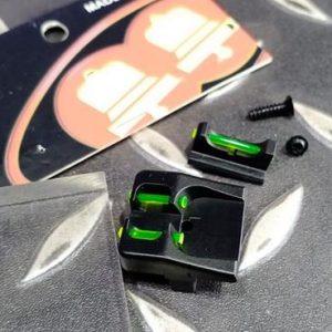 BELL G17 黃綠光 纖準心照門組 光纖準心 罩門組 克拉克 BELL-17470