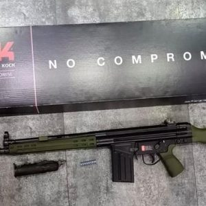 UMAREX 授權 HK 鋼製 G3A3 GBB 瓦斯槍 WE系統