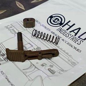 HAO HK416A5 Style GBB 鋼製彈匣卡榫 雙邊退匣鈕 真品規格 HAO-03