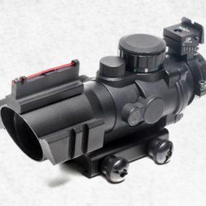 G&G 怪怪 4×32 RGB 海螺狙擊鏡 4倍瞄鏡 防震 紅藍綠光瞄準鏡 G-12-032
