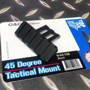 G&G 怪怪 45度鏡橋 戰術軌道 黑色 G-03-128