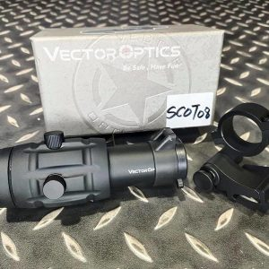 Vector Optics 維特 翻蓋式 5倍瞄具放大鏡-SCOT-08-11