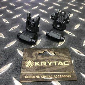 KRYTAC Defiance前準星+後罩門組(塑膠版) KTP-KA0990-01A
