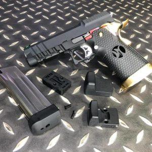 AW CUSTOM HI-CAPA 4.3 全金屬 瓦斯手槍含RMR WE系統 HX2601