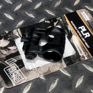 真品 FAB PLR 戰術電筒5段5檔位 可調夾具戰術頭盔電筒導軌夾具 黑色