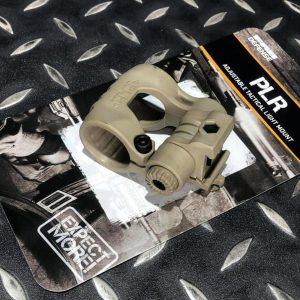 真品 FAB PLR 戰術電筒5段5檔位 可調夾具戰術頭盔電筒導軌夾具 沙色