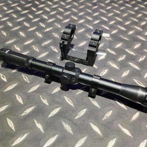 BELL Kar 98K 4×20 狙擊鏡+鏡架
