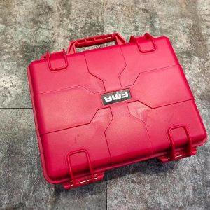 FMA 硬殼手槍盒 槍箱 塑膠硬殼槍盒 紅色 TB1260-RED