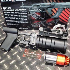 King Arms AK74 GP-30 榴彈發射器 附120發裝榴彈