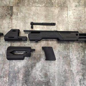 SRU MK23 短槍套件 犢牛改裝套件 黑色 SR-SNP-23