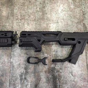 SRU M93R 衝鋒套件 犢牛改裝套件 黑色 SR-PDW-93