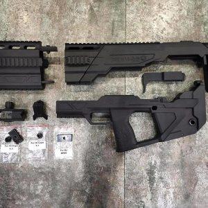 SRU Hi-Capa 衝鋒改裝套件 犢牛改裝套件 黑色 SR-PDW-HI