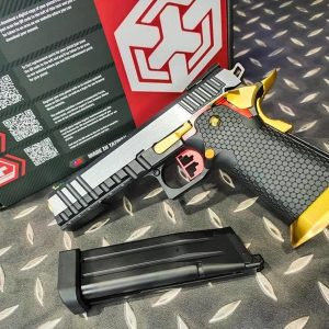 AW CUSTOM HI-CAPA 5.1 雙色 單連發 全金屬 瓦斯手槍 WE系統 AW-HX2031