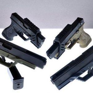 SRU 3D 列印 進階槍身套裝 Marui / WE GLOCK G17 / 18C 手槍 黑色 SRU-GF01-BK