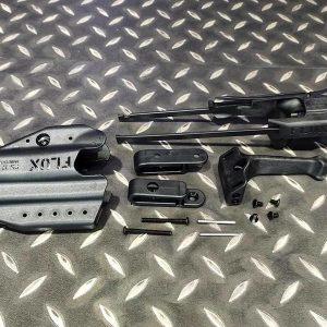 FLUX GLOCK 17 G17 G18 短槍用伸縮托戰術套件 附專用槍套 黑色