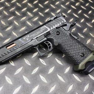 AW EMG STI TTI Combat Master 2011 GBB 手槍 JOHN WICK 3 鋼製 雙授權 WE系統