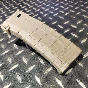戰斧 P-MAG 330發 M4 彈匣 附底蓋 M4系 電動槍適用 沙色 15150TAN