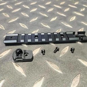 Golden Eagle 金鷹 M870 霰彈槍 20毫米頂軌連後準星 (黑色) JG-MC-105