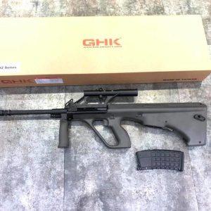 GHK AUG A2 (OD) GBB (軍綠色A1樣式) 20吋槍管 標準版