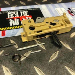 G&P CNC MARUI MWS M4 直立式扳機 不鏽鋼製 火控總成組 MWS021A