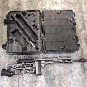 ARES MSR303 可快速分解收納 附專用槍箱 手拉空氣狙擊槍 鐵灰色