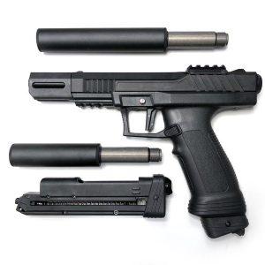 MILSIG P10 PRO 12.7mm 戰術漆彈鎮暴槍 搭加長管套餐 執勤版 防身 保全