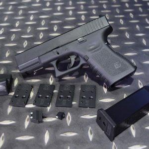 WE GLOCK G19 GEN3 RMR A版 MOS 金屬滑套 瓦斯手槍 GBB 黑色 RMR 為模型無功能