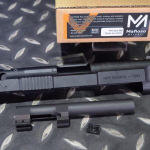 Mafioso 鋁製 CNC 海豚版 滑套 +鋼製外管 for KSC KWA M9 手槍 GBB