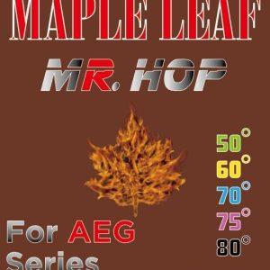 """楓葉精密 MAPLE LEAF 2020 AEG 電動槍 """"極大射程 Maximum Range"""" AEG MR.HOP皮 5種硬度"""