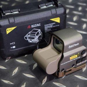 SOTAC EOTech 風格 XPS3-0 內紅點快瞄鏡 電視機 沙色 IR 功能 GZ-XPS3-DE