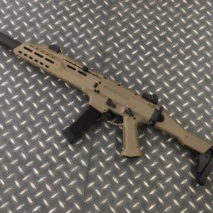 ASG 沙色 CZ Scorpion EVO 3 A1 滅音管版 蠍式 電動槍 沙色