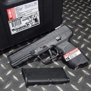 SRC SR285 Maverick GBB FN-57 獨行俠 瓦斯手槍 附槍箱 黑色 GB-0722-BK