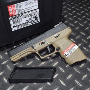 SRC SR285 Maverick GBB FN-57 獨行俠 瓦斯手槍 附槍箱 雙色 GB-0722-BD