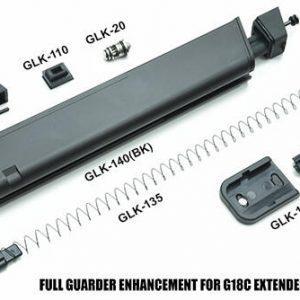 警星 GUARDER G18 CERAKOTE GLOCK 鋁合金輕量化長彈匣 MARUI 黑色