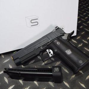 EMG SAI HICAPA 4.3 2011 瓦斯手槍 真槍授權 WE系統 黑
