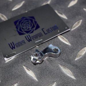 WWC 神劍 WE MARUI HI-CAPA 1911 GBB 擊錘 銀色 WWC-P0018