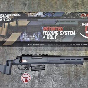 ARES AMOEBA AST-01 空氣手拉 2020年新版 戰術版狙擊槍 灰色 AS-T1-GY