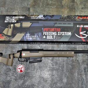 ARES AMOEBA AST-01 空氣手拉 2020年新版 戰術版狙擊槍 沙色 AS-T1-DE