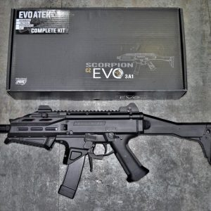ASG CZ 蝎子 Scorpion EVO3 A1 蠍式衝鋒槍 AEG 電動槍 電子板機 丹麥製造