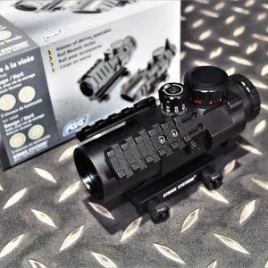 ASG Tactical 3×32 戰術瞄具 側魚骨快瞄 內紅點 防水防霧