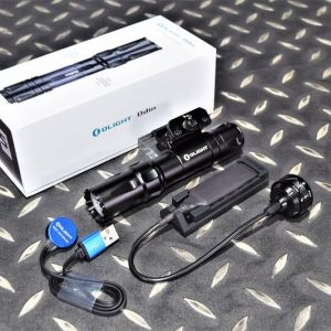 OLIGHT ODIN 奧丁 2000流明 槍燈 手電筒 附磁吸式鼠尾21700充電電池 黑色 OL-38