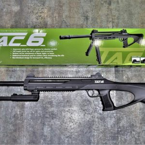 ASG TAC-6II步槍 CO2 動力氣槍 附腳架 紅雷射 光纖準星
