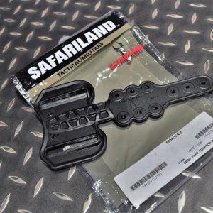 真品 沙法利蘭 SAFARILAND 腿掛延伸版 黑色 6004DFA-2