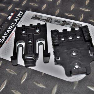 真品 沙法利蘭 SAFARILAND 579 槍套 QLS 快速鎖定插板 黑色 QUICK-KIT1-2