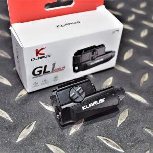 KLARUS GL1 600流明 微型手槍燈 一鍵極亮 GLOCK/1913導軌