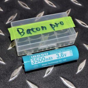 OLIGHT Baton Pro專用手電筒 磁吸充電18650 3500mAh 3.6V 凸頭保護板鋰電池 OL-44