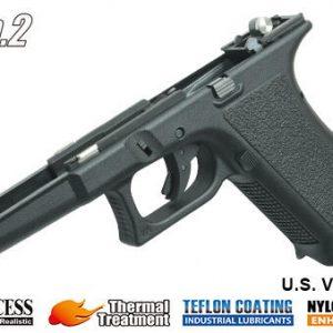 警星 GUARDER MARUI G17/22/34 新世代強化槍身總成 GEN2 歐版字樣 黑 GLK-198(E)BK