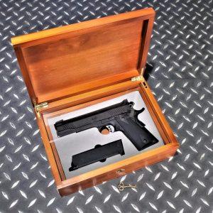 KIMBER M1911 MEU V12 實木槍盒 台製 收藏盒 原木盒 收納盒 珍藏盒