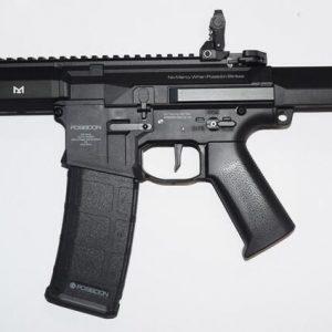 POSEIDON 海神 復仇者 Avenger1 AEG 電動槍 長槍 新版 電子扳機 V2 黑色