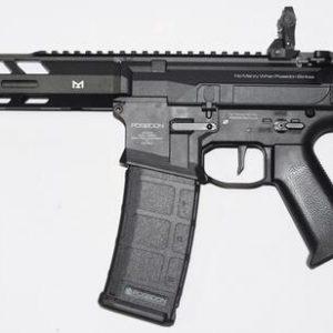 POSEIDON 海神 復仇者 Avenger4 AEG 電動槍 長槍 新版 電子扳機 V2 黑色